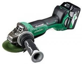 "Hitachi 36V 4"" Cordless Disc Grinder with Paddle Switch G3610DB"