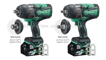 "Hitachi Multi Volt 36V Cordless Impact Wrench (1/2"") WR36DB"