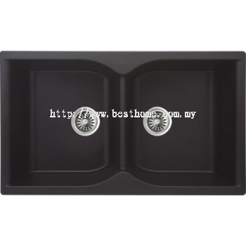 TORA GRANITECH SERIES KITCHEN SINK CM3813-BP / TR-KS-DB-00041-BP
