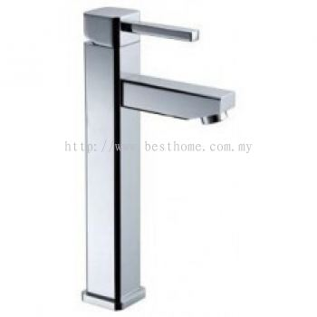 TORA CHROME SQUARE SERIES ABOVE COUNTER BASIN MIXER TAP GBM-A978 / TR-TP-GBM-00482-CH