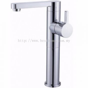 TORA ANDES SERIES ABOVE COUNTER BASIN MIXER TAP GBM11007 / TR-TP-GBM-00485-CH