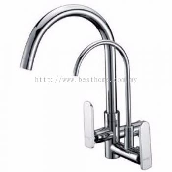 TORA EASY-HAND SERIES KITCHEN WALL SINK COLD TAP WS500-C / TR-TP-WS-00240-CH