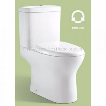 TWO PIECE WATER CLOSET LC-SYW-CCS- 11168-WW