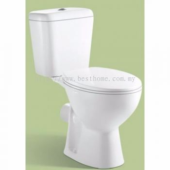 TWO PIECE WATER CLOSET LC-SYW-CCS- 11163-WW (S-250MM)