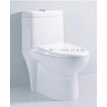 ONE PIECE WATER CLOSET LC-SYW-OPS-10049-WW