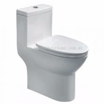 ONE PIECE WATER CLOSET LC-SYW-OPS- 11250-WW (S-250MM)