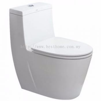 ONE PIECE WATER CLOSET LC-SYW-OPS-09720-WW