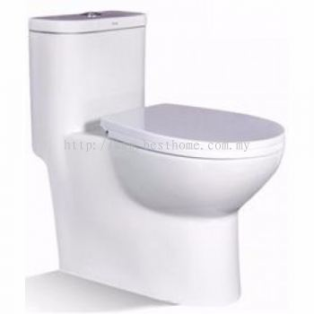 ONE PIECE WATER CLOSET LC-SYW-OPS-09710-WW