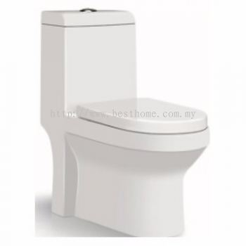ONE PIECE WATER CLOSET LC-SYW-OPS- 09690-WW (300MM)