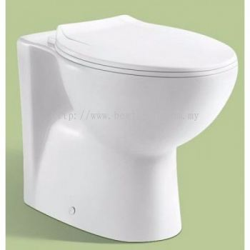 TWO PIECE WASHDOWN WC SET LC-SYW-CCS- 10884-WW