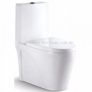 ONE PIECE WATER CLOSET VIVO / LC-SYW-OPS-009819-WW