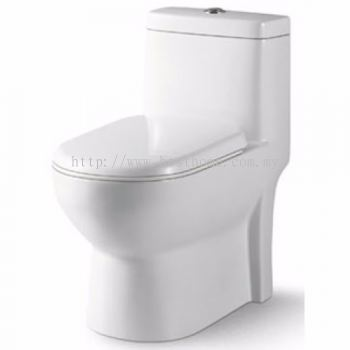 ONE PIECE WATER CLOSET VITRA / LC-SYW-OPS-09579-WW
