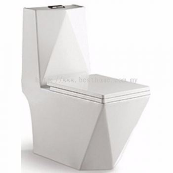ONE PIECE WATER CLOSET MATRIX-P / LC-SYW-OPS-09344-WW