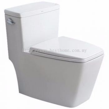 ONE PIECE WATER CLOSET LC-SYW-OPS-09722-WW