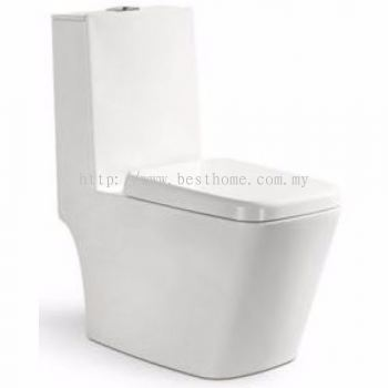 ONE PIECE WATER CLOSET STELLE / LC-SYW-OPS-08418-WW