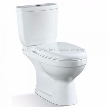 TWO PIECE WATER CLOSET SIMPLFY-P / LC-SYW-CCS-09343-WW