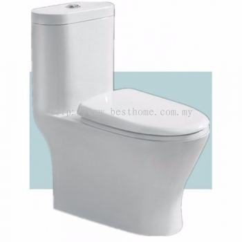 ONE PIECE WATER CLOSET PAROS / LC-SYW-OPS-07062-WW