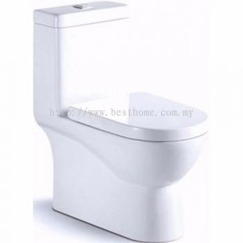 ONE PIECE WATER CLOSET LT1016A / LC-SYW-OPS-07322-WW