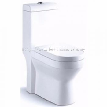 ONE PIECE WATER CLOSET LT1005A / LC-SYW-OPS-07323-WW