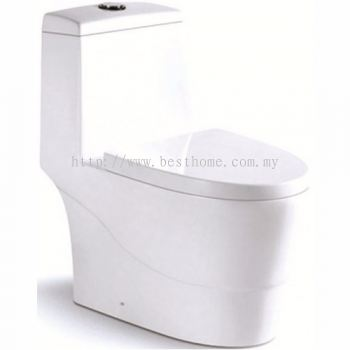 ONE PIECE WATER CLOSET LT1069A / LC-SYW-OPS-07326-WW