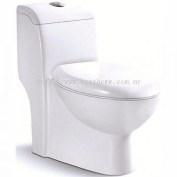 ONE PIECE WATER CLOSET LT1011A / LC-SYW-OPS-07327-WW