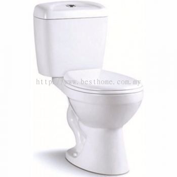 TWO PIECE WATER CLOSET LC-SYW-CCS-07351-WW