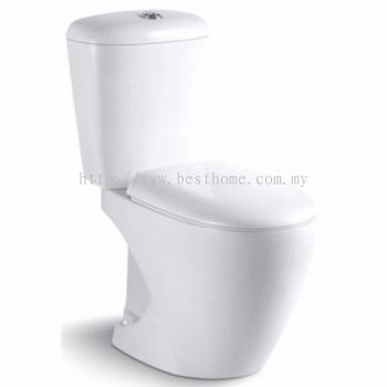 TWO PIECE WATER CLOSET MILY / LC-SYW-CCS-07495-WW