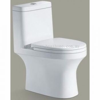 ONE PIECE WATER CLOSET KLEOS / LC-SYW-OPS-07054-WW