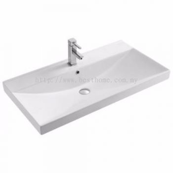 UNDER COUNTER WASH BASIN LC910 / LC-SYW-WHB-09338-WW