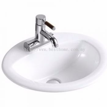 UNDER COUNTER WASH BASIN CL02 / LC-SYW-WHB-08206-WW
