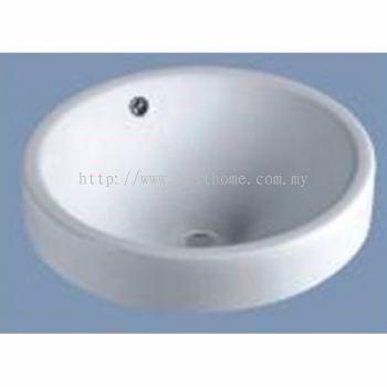 UNDER COUNTER WASH BASIN KD731B / LC-SYW-WHB-07798-WW