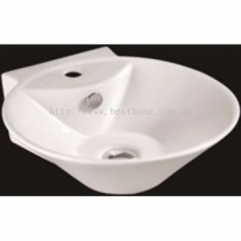 WALL HUNG WASH BASIN LC1347 / LC-SYW-WHB-07634-WW