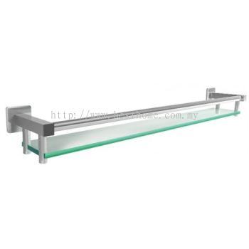 GLASS SHELF YJ804-600MM / TR-BA-GS-01341-PL