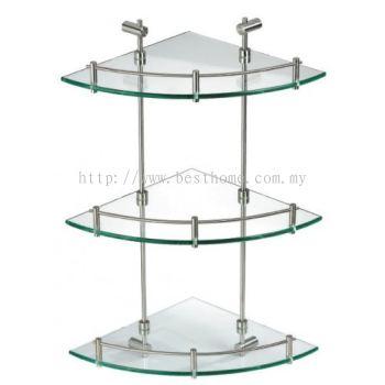 LINEQ (88) SERIES GLASS SHELF 8825 / TR-BA-GS-01011-ST