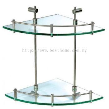 LINEQ (88) SERIES GLASS SHELF 8824 / TR-BA-GS-01010-ST