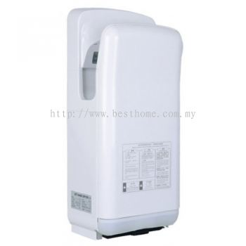 BRUSHLESS MOTOR HOT & COLD AUTOMATIC JET HAND DRYER TR-BA-HDD-07732-WW