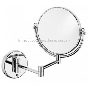 WALL MOUNTED MAGNIFYING MIRROR TR-BA-MM-05013-CH