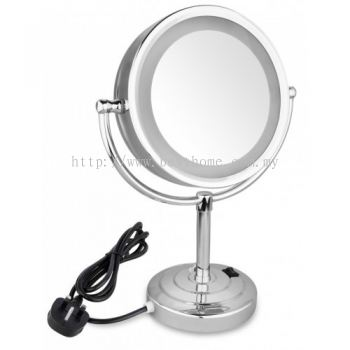 STANDING MAGNIFYING MIRROR WITH LIGHT KL205 / TR-BA-MM-01139-PL