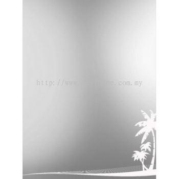 SQUARE CRYSTAL MIRROR M4562 / TR-BA-MR-01213