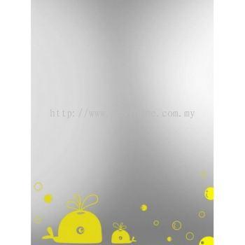 SQUARE CRYSTAL MIRROR M4561 / TR-BA-MR-01212