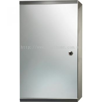 STAINLESS STEEL MIRROR CABINET M6111 / TR-BA-MC-01232-PL