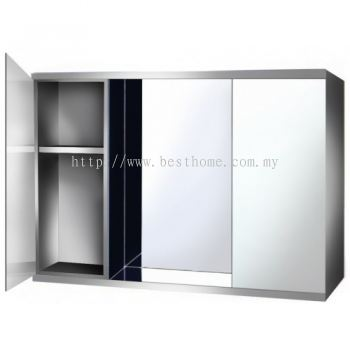 STAINLESS STEEL MIRROR CABINET 9303 / TR-BA-MC-01361-PL