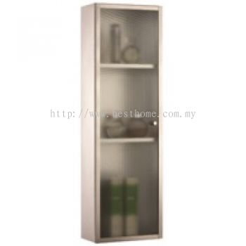 STAINLESS STEEL GLASS CABINET M6112E / TR-BA-MC-04959