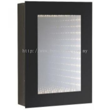 STAINLESS STEEL MIRROR CABINET WITH LED LIGHTS M6682 / TR-BA-MC-01244-PL