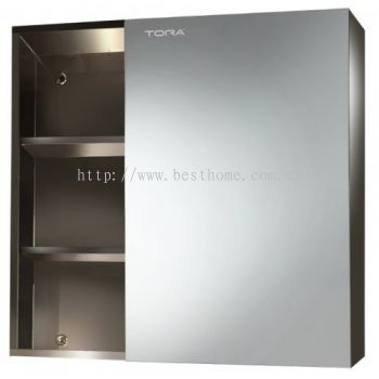 STAINLESS STEEL MIRROR CABINET M6124 / TR-BA-MC-01233-PL