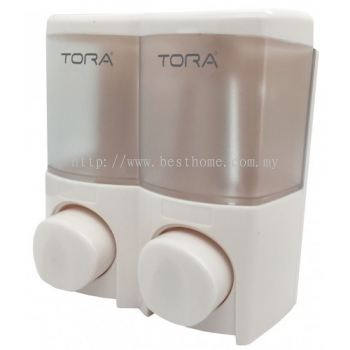 TORA DOUBLE WALL MOUNTED SOAP DISPENSER SD3213 / TR-BA-SPD-01301