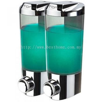 TORA DOUBLE WALL MOUNTED SOAP DISPENSER SD1922C / TR-BA-SPD-07250-CH