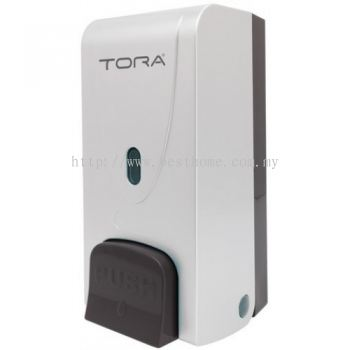 SINGLE WALL MOUNTED SOAP DISPENSER SD3215-WHITE / TR-BA-SPD-01304-WW