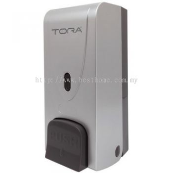 SINGLE WALL MOUNTED SOAP DISPENSER SD3215-SILVER / TR-BA-SPD-01303-SV
