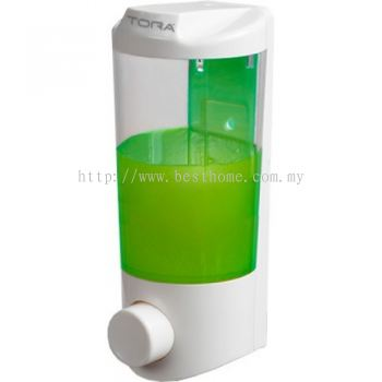 SINGLE WALL MOUNTED SOAP DISPENSER SD1921W / TR-BA-SPD-07247-WW